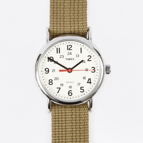 Weekender Watch - Cream/Olive
