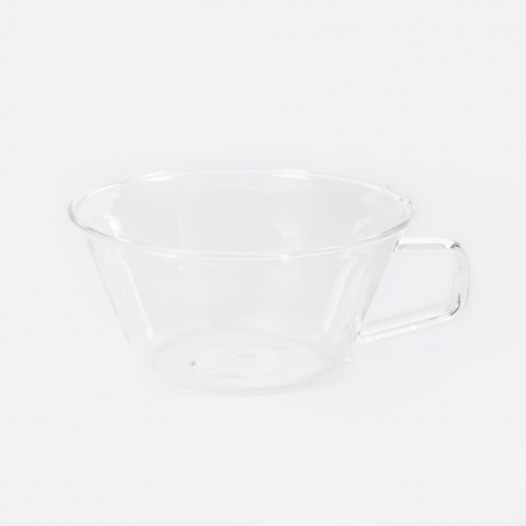 Cast Tea Cup 220ml - Clear