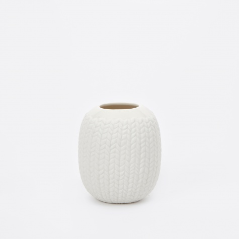 Couture Flower Vase - Small Knit