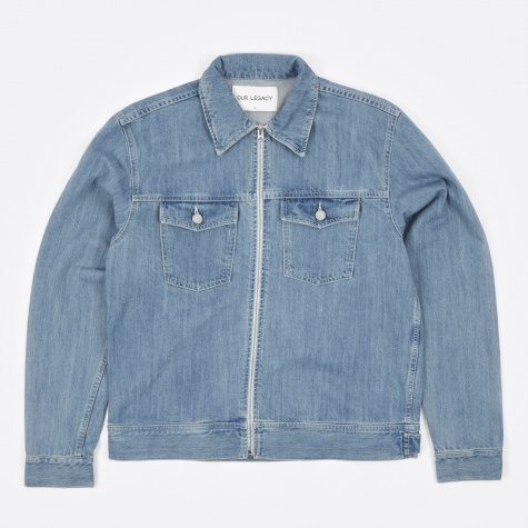 Lean Jacket - Light Denim