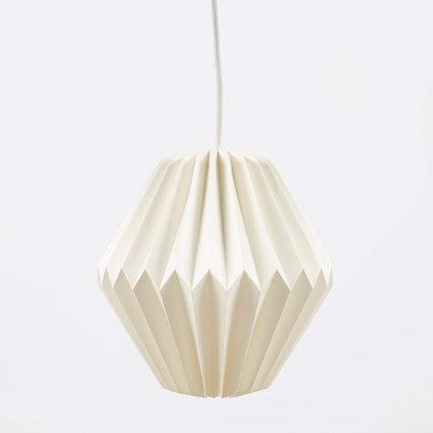 Lampshade Design No.4 - Pure White