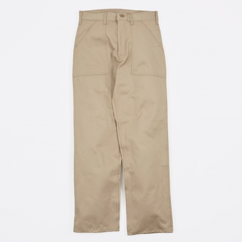 OG107 4 Pocket Fatigue Pant 8.5oz - Khaki Twill