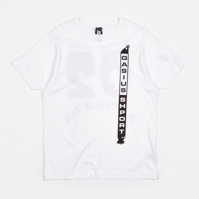 Gasius x Goodhood Gathletix Special Tee - White (Image 1)