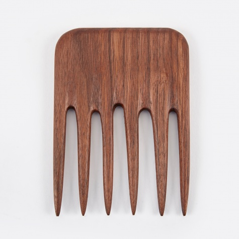 High Top Comb - Walnut