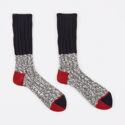 North Rim Socks - Navy