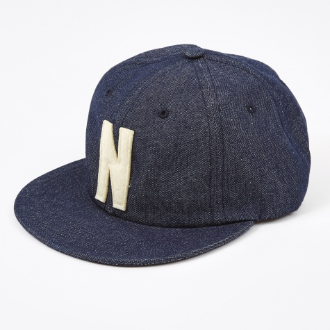 Denim 6 Panel Cap - Dark Indigo