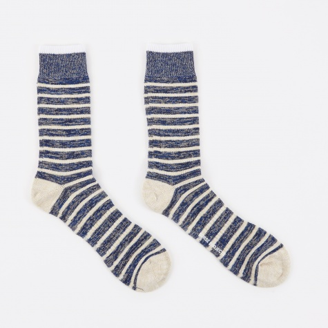 Bjarki Classic Normandy Sock - Cornflower Blue