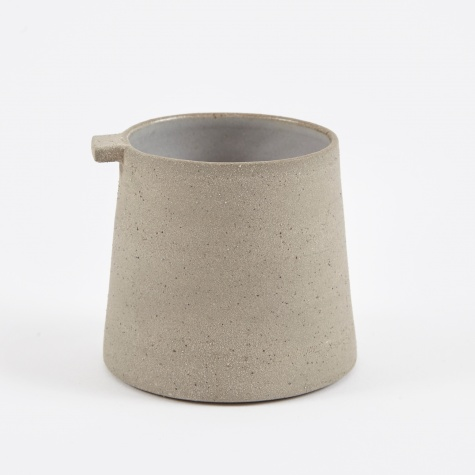 Coffee Cup - Textured Grey