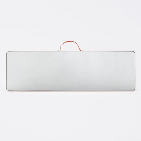 Ruban Mirror Rectangular L - Red