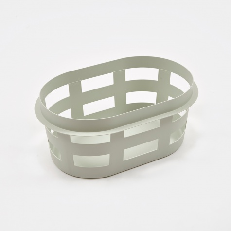 Laundry Basket Light Grey - Small
