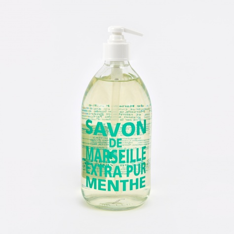 Liquid Marseille Soap 500ml - Mint Tea