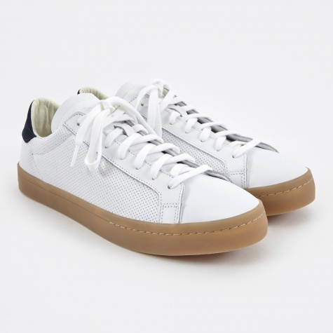 Court Vantage - White/Navy/Gum