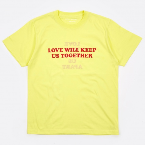 Love Will Reversible T-Shirt - Yellow