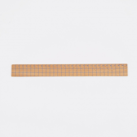 Wooden Ruler - Style 3