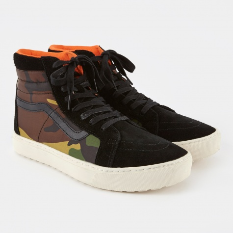 Vault x London UC Sk8-Hi MTE Cup LX - British Camo/Black
