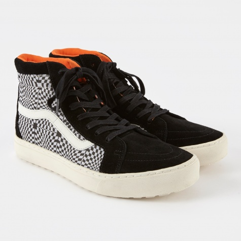 Vault x London UC Sk8-Hi MTE Cup LX - Optical Checkerboard/