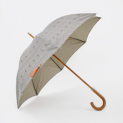 Vault x London Undercover Optical Checkerboard Umbrella - B