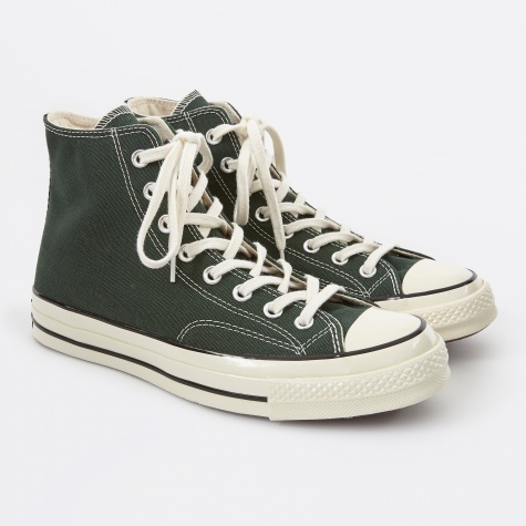 1970s Chuck Taylor All Star Hi - Deep Emerald
