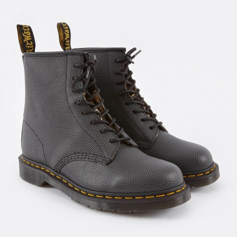Dr.Martens x Stussy 1640 8 Eye Boot - Black Pebble