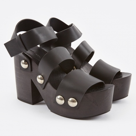 Tess Black Soft Calf - Black