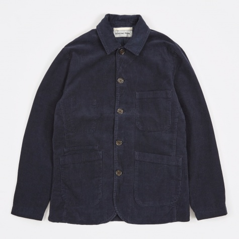 Cord Bakers Jacket - Navy