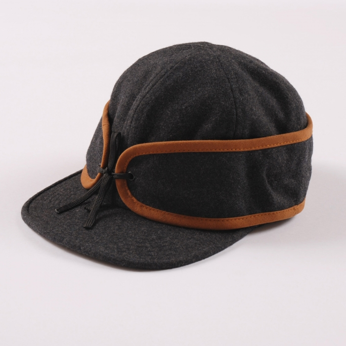 Norse Projects New Hunter Cap - Grey (Image 1)