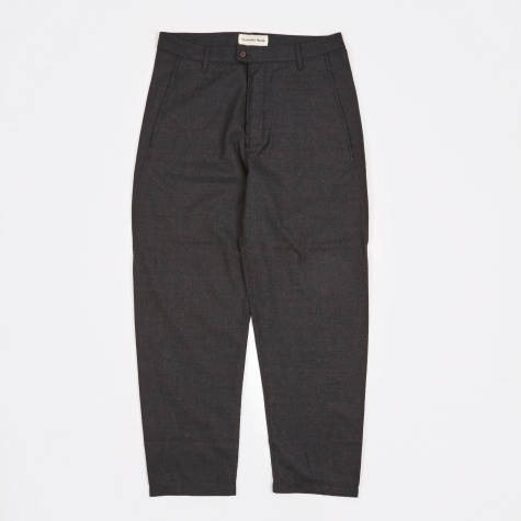 Varcity Wool Bakers Pant - Charcoal