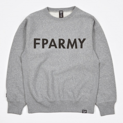 Army Crewneck Sweat - Grey