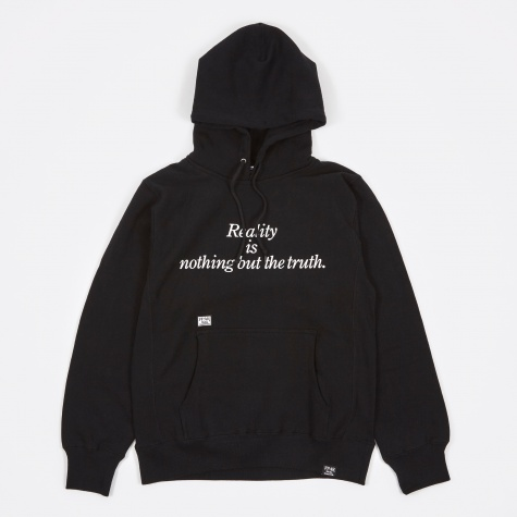 Reality Hooded Sweat - Black