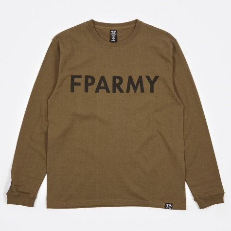 Army L/S Tee - Olive Drab