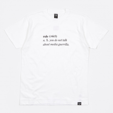 Dictionary Tee - White
