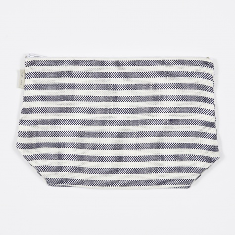 Fred Pouch - Navy Stripe