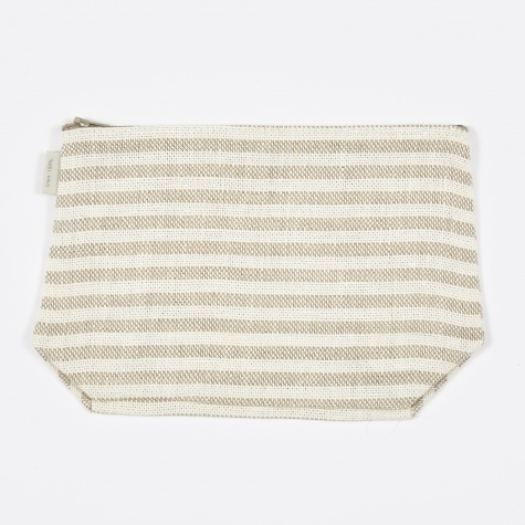 Fred Pouch - Natural Stripe