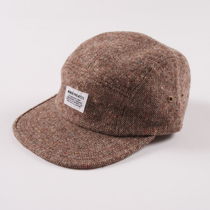 Norse Projects Tweed/Fleck 5 Panel Cap (Image 1)