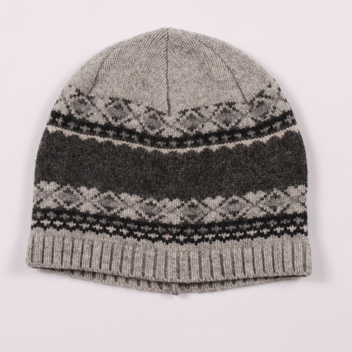 Norse Projects Norse Project Tobias Beanie - Multi Grey (Image 1)