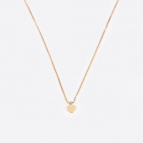 Box Chain - 18K Yellow Gold