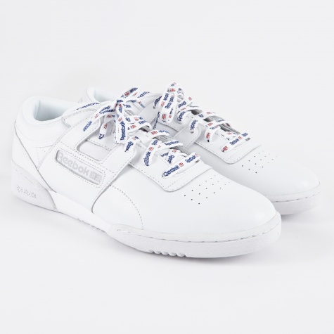 Workout Lo Clean 1895 - White/Collegiate Royal/Steel