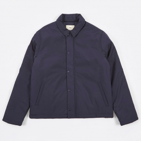 Wadded Pebble Jacket - Navy