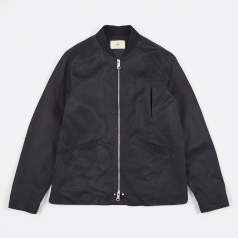 Rivet Jacket - Navy