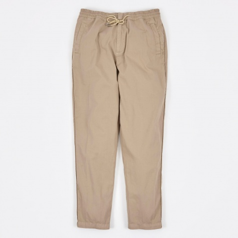 Drawcord Trousers - Washed Sand
