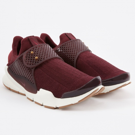 Sock Dart - Night Maroon/Noble Red