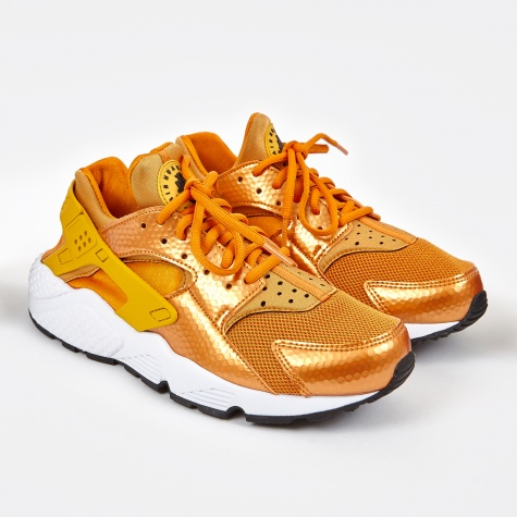 Air Huarache Run - Sunset/Gold Dart-White