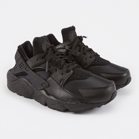 Air Huarache Run - Black/Black
