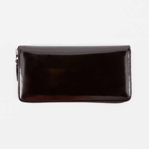 Comme des Garcons Wallet Mirror Inside L (SA0110MI) - Black/Silv