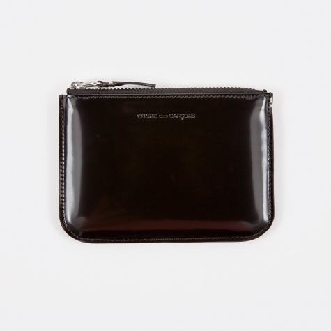 Comme des Garcons Wallet Mirror Inside (SA8100MI) - Black/Silver