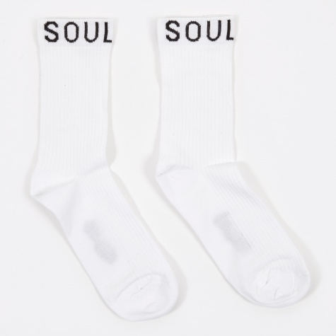 Soulrib Sock - White
