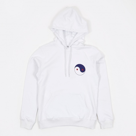 Mulally Hooded Sweatshirt - White