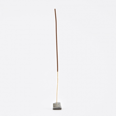 Metal Incense Holder - Pewter