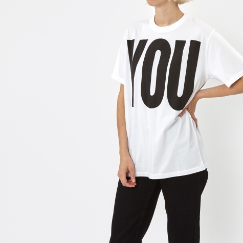 Katherine Hamnett x YMC You Me T-Shirt - White