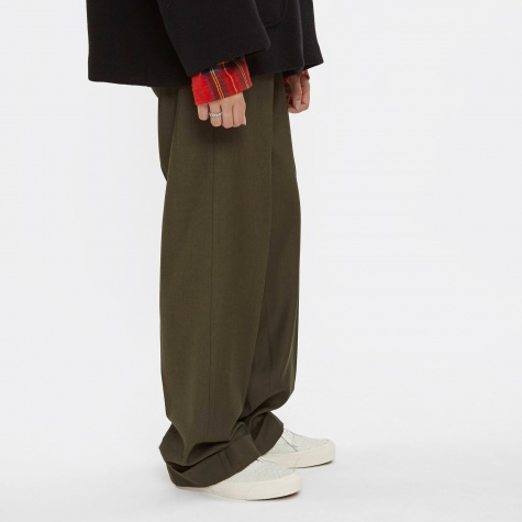 MM6 Baggy Gaberdine Trouser - Military